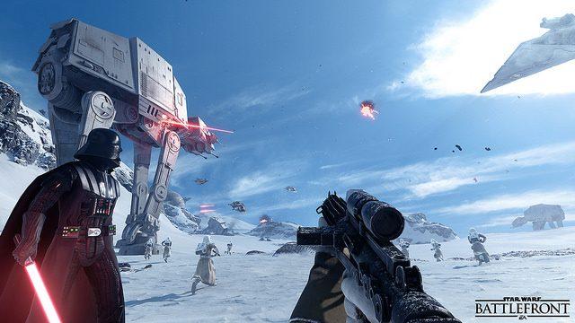 Star Wars Battlefront: Criando os Icônicos Mapas de Hoth