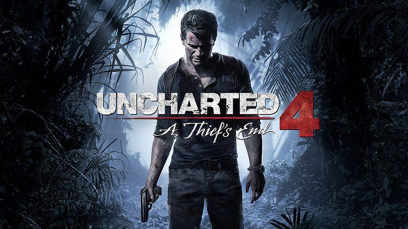Uncharted 4: A Thief's End chega ao PS4 no dia 26 de Abril 10 de Maio de 2016.