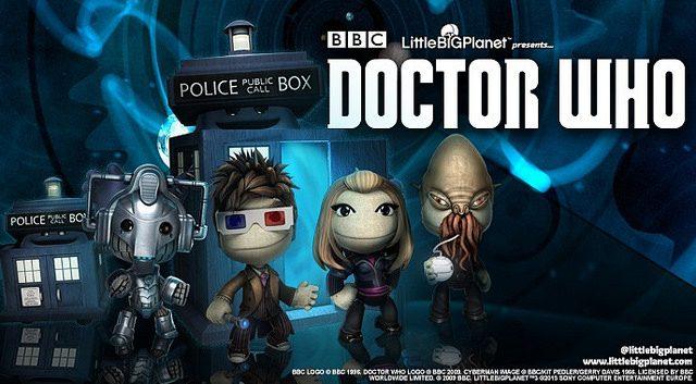 Doctor Who Chega a LittleBigPlanet Esta Semana