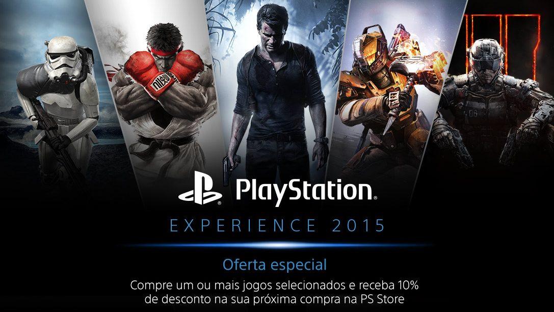 Oferta Especial PlayStation Experience