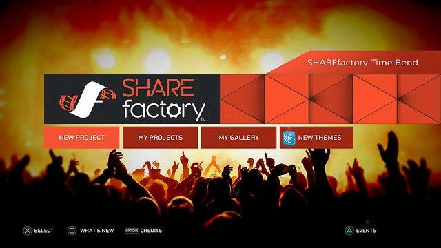 Atualização do Sharefactory: Câmera Lenta, Time Lapse e Mais