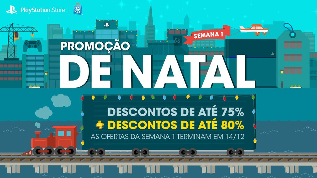 Promoção de Natal: Economize Muito Com 4 Semanas de Descontos Limitados