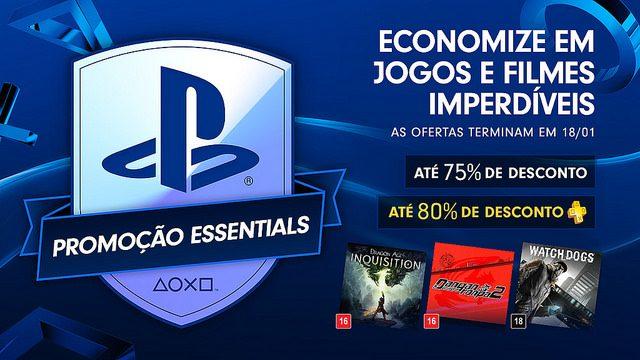 Promoção PlayStation Essentials: Até 75% de Descontos em Jogos que Você Tem que Ter
