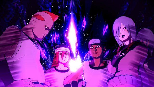 O Sound Four Se Junta ao Elenco de Naruto Shippuden: Ultimate Ninja Storm 4 para PS4