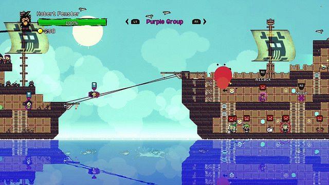 Vem aí o Simulador de Pirataria de Mundo Aberto Pixel Piracy para PS4