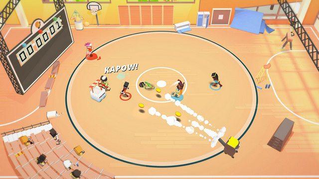 Stikbold! A Dodgeball Adventure Está Chegando ao PS4