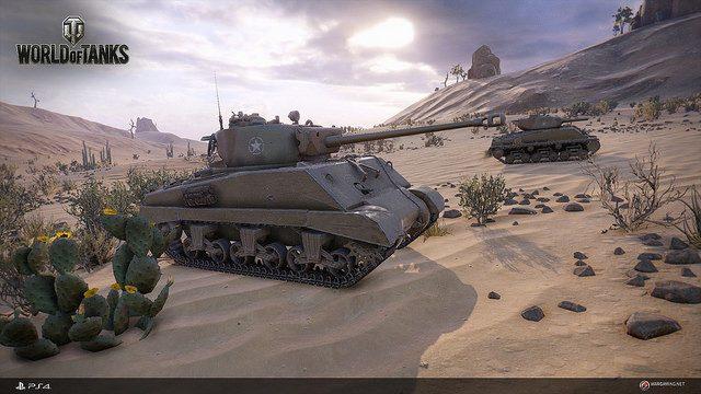 World of Tanks Chega Hoje ao PS4
