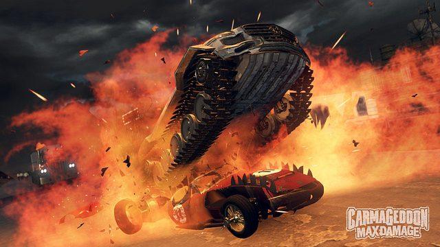 Carmageddon: Max Damage Está Chegando ao PS4