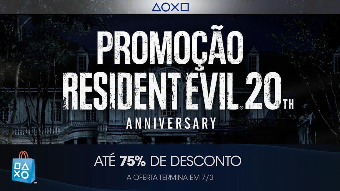 Apresentamos Nossas Promoções de Franquias de Jogos e Filmes, Começando com Resident Evil