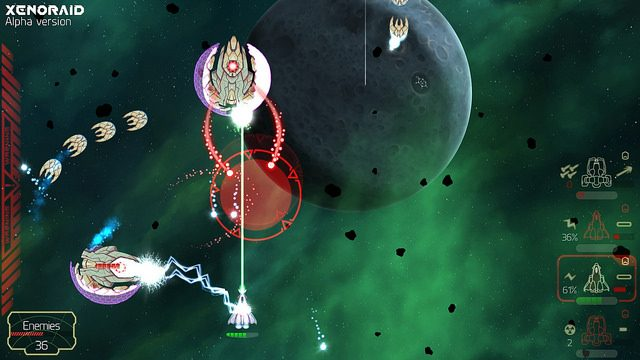 Apresentamos o Shoot 'Em Up de Scrolling Xenoraid para PS4 e PS Vita