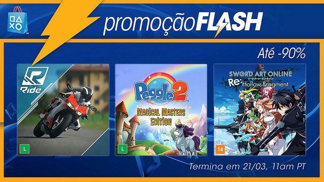 Promoção Flash: Ofertas do Cofre