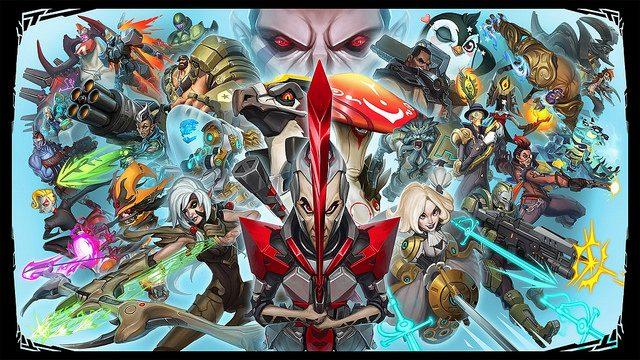 Beta Aberta de Battleborn Começa em 8 de Abril no PS4