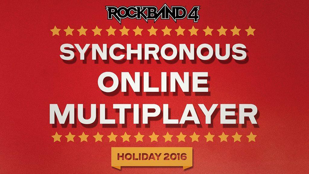 Rock Band 4: Online Multiplayer Chega Este Ano