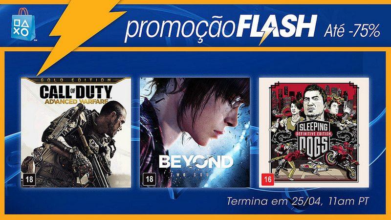 Promoção Flash: Ofertas de Jogos e Filmes de Ação