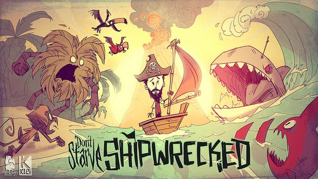 Don't Starve: Shipwrecked Navega até o PS4 Neste Outono