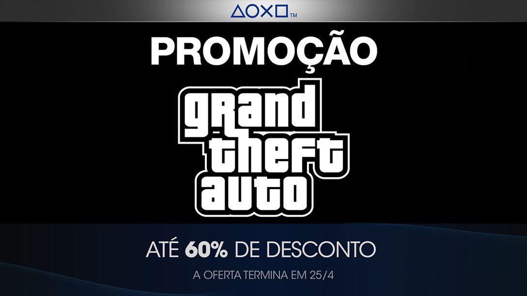 PlayStation Store Oferece Promoção na Série Grand Theft Auto