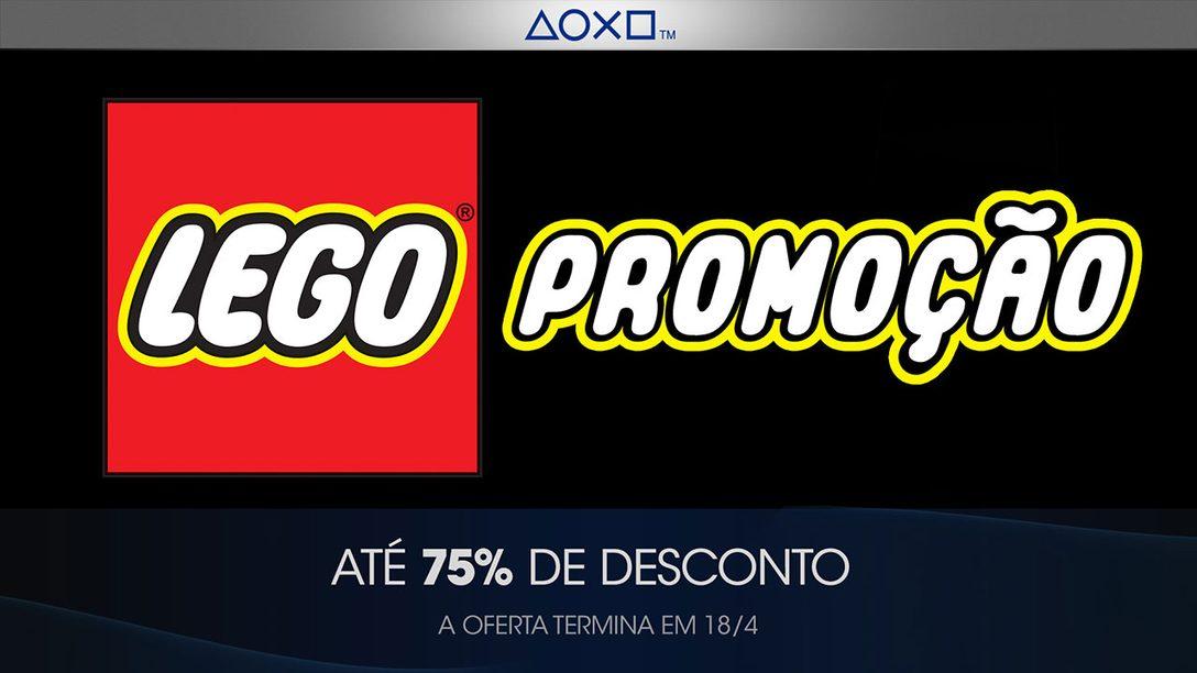 A  PlayStation Store Constrói a Promoção de Franquias Desta Semana com LEGO