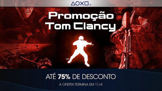 Tom Clancy Traz Intriga e Espionagem para a Série de Promoções de Franquias