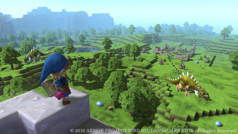 Confirmamos Dragon Quest Builders no PS4 e PS Vita