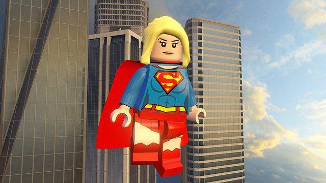 Supergirl Aterrissa em LEGO Dimensions no PS4
