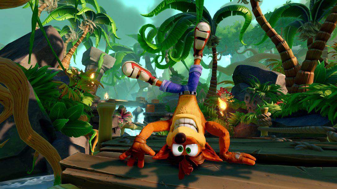 Como Crash Bandicoot Acabou em Skylanders Imaginators para PS4?