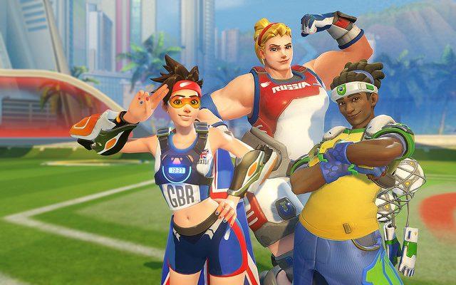 Overwatch: Celebre os Jogos de Verão com Lúcioball