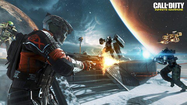 Multiplayer de Call of Duty: Infinite Warfare Tem um Ar Familiar, mas Renovado