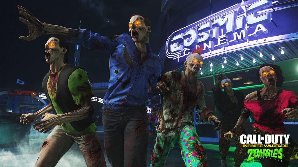 Primeiras Impressões: Zombies in Spaceland, o novo Playground de Neon de COD Infinite Warfare