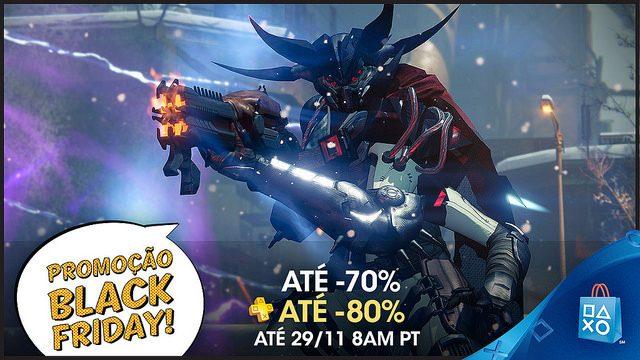 A Black Friday Começa Agora na PlayStation Store