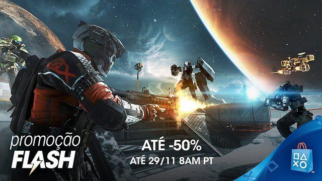 Promoção Flash! Ainda Mais Ofertas de Black Friday na PS Store