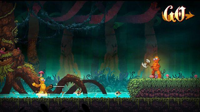 Batalhas Meio Atrapalhadas e Nojentas São Abundantes em Nidhogg 2, Disponível Ano que Vem no PS4