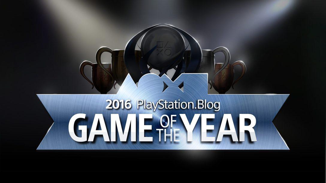 Vote Agora: Prêmio Game of the Year 2016 do PlayStation.Blog