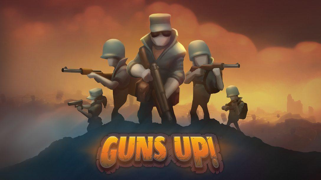 Guns Up: Comemorações de Um Ano e Caixa de Aniversário Gratuita