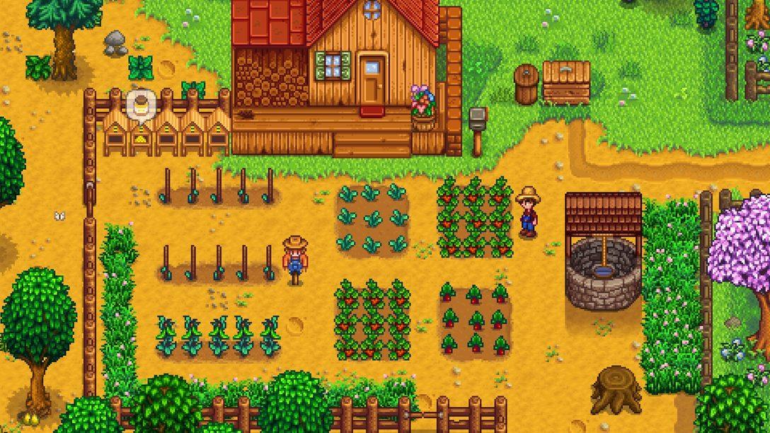 O RPG de Vida Rural Stardew Valley Chega ao PS4 em 13 de Dezembro