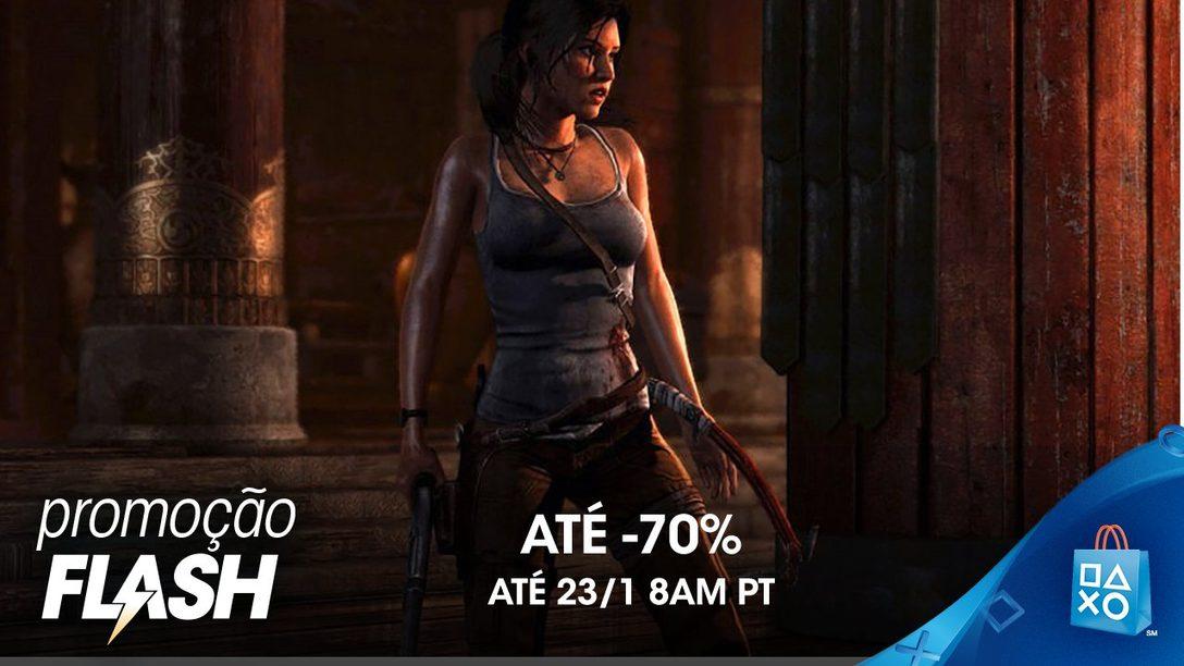 Promoção Flash: Descontos de Até 70% na PS Store