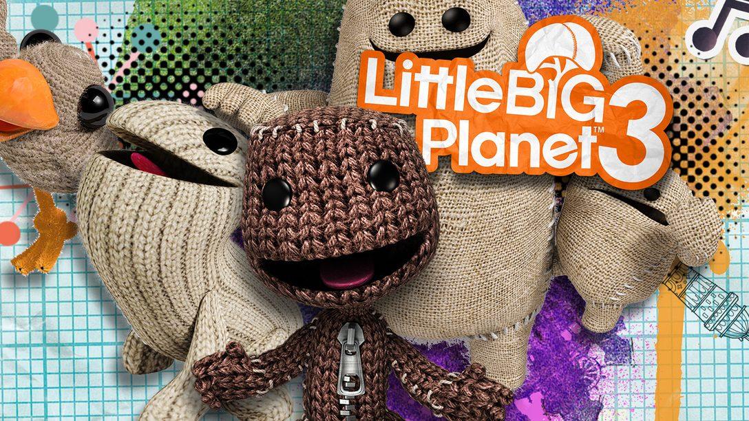 LittleBigPlanet Gratuito para os Membros da PS Plus Neste Mês