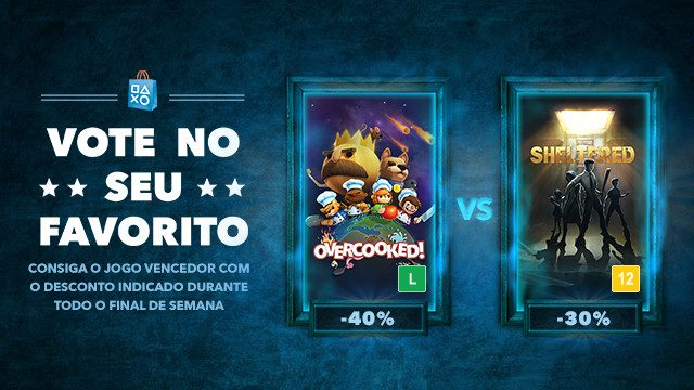 Vote No Seu Favorito: Overcooked vs. Sheltered