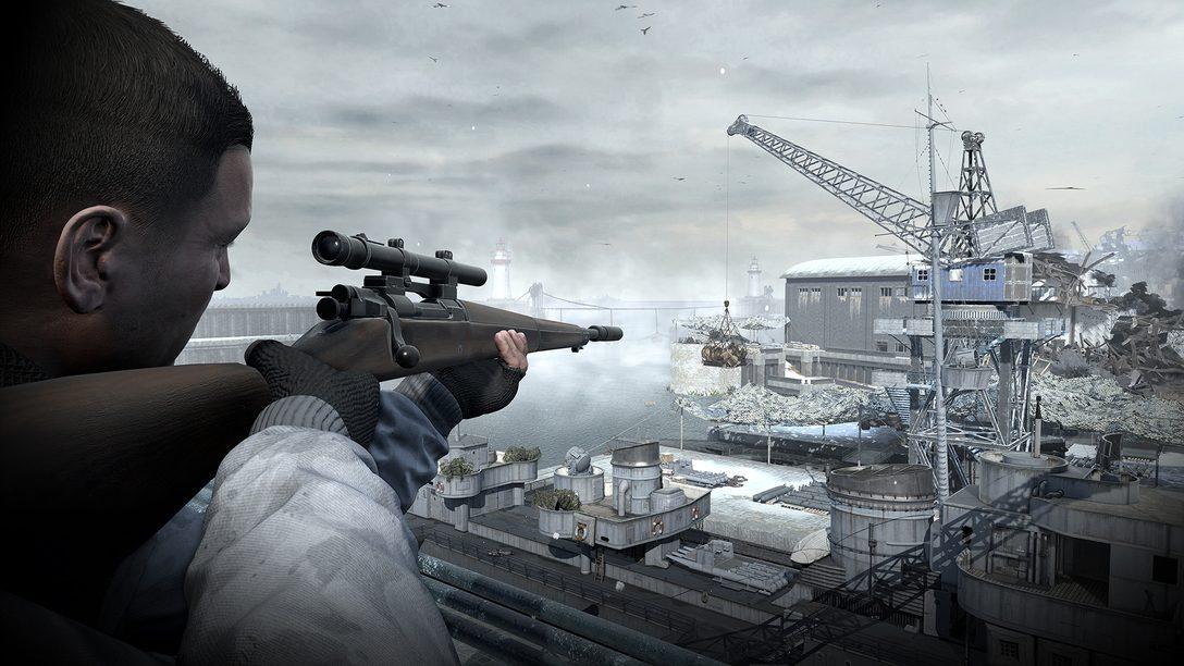 Sniper Elite 4: Deathstorm A Campanha Começa Dia 21 de Março