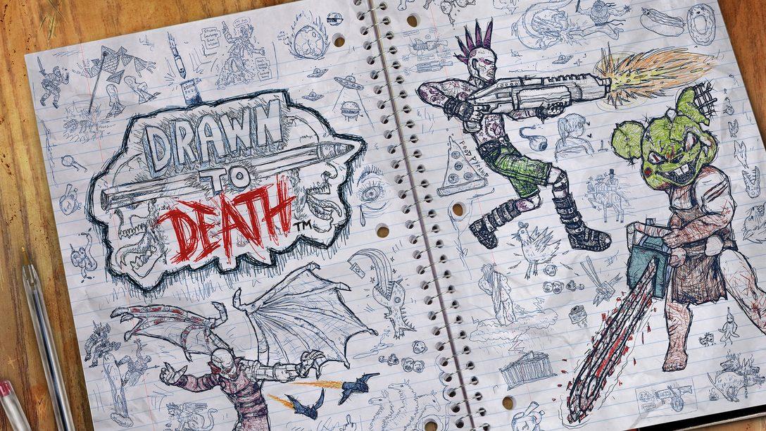 Drawn To Death Chega de Graça para Membros do PS Plus em Abril