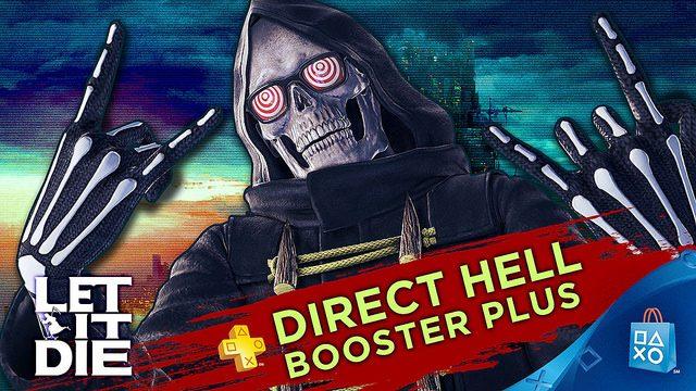 PS Plus: Booster Pack de Let It Die, 3 Meses de Bônus