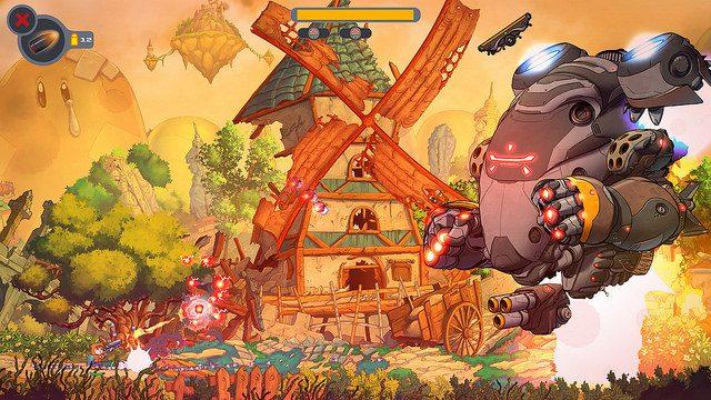 Proteja um Planeta de Personagens Clássicos de Videogame em Rise & Shine
