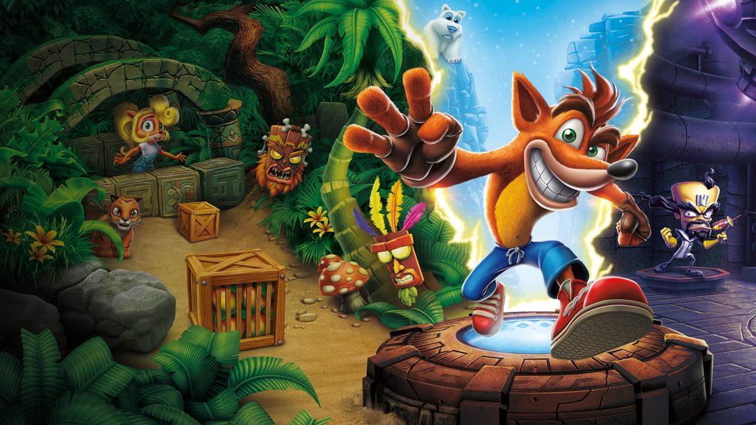 Crash Bandicoot: The N. Sane Trilogy Chega Rodopiando ao PS4 Hoje: Saiba dos Bastidores da Vicarious Visions
