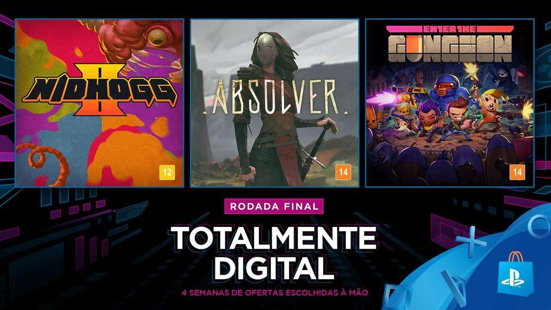 Totalmente Digital: Novos Jogos Empolgantes e Grandes Descontos no Catálogo