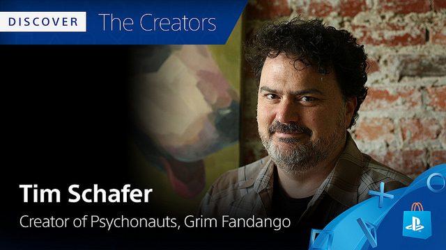 Conheça os Criadores: Os Jogos Favoritos de PS4 de Tim Schafer