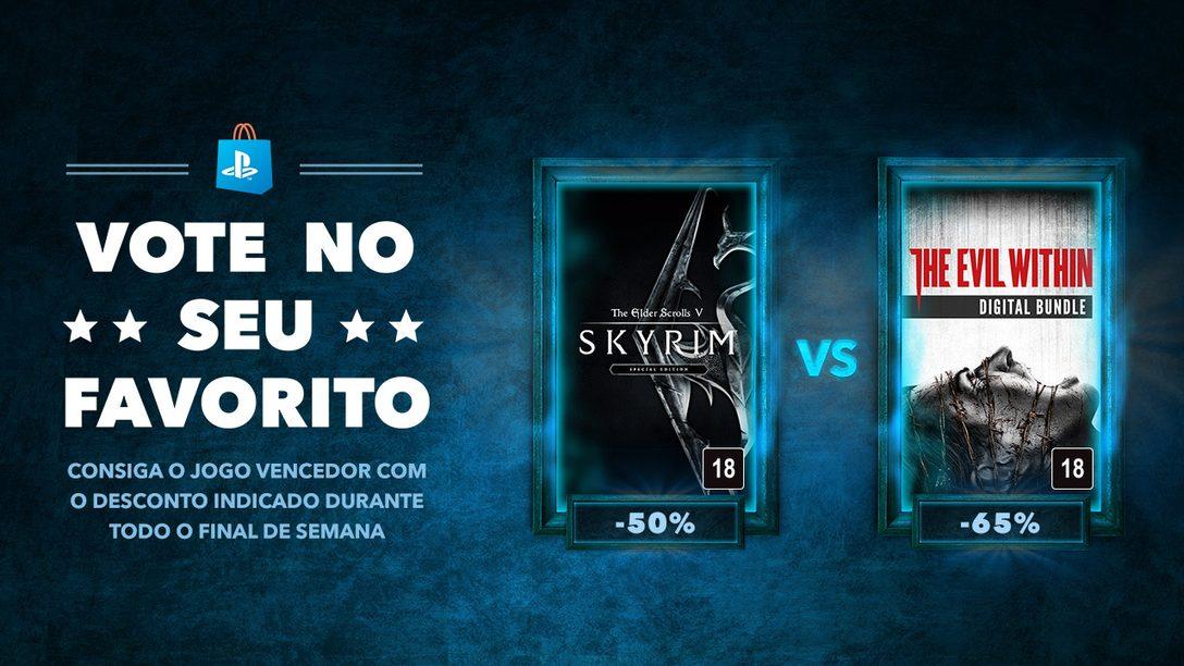 Vote No Seu Favorito: The Elder Scrolls V: Skyrim vs. The Evil Within