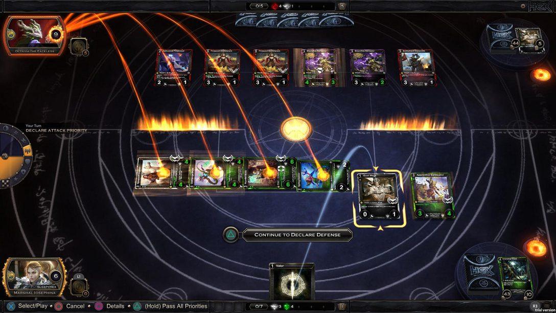 Hex: Card Clash Traz a Competição com Cartas ao PS4