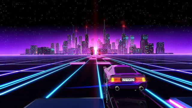 Neon Drive Chega dia 8 de Agosto no PS4