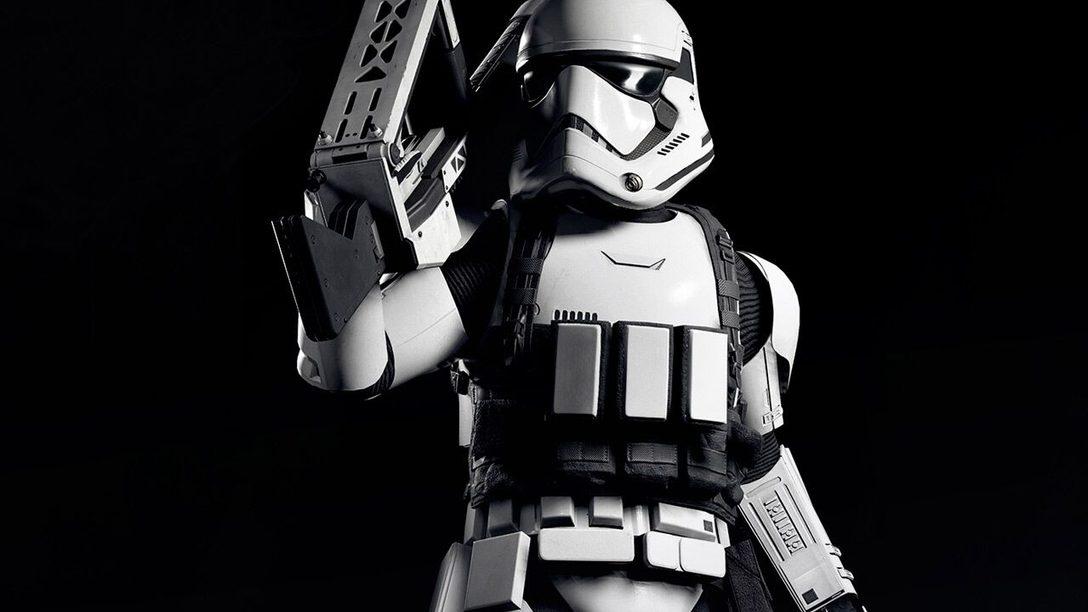 Uma Olhada Exclusiva no Trooper Pesado de Star Wars Battlefront II
