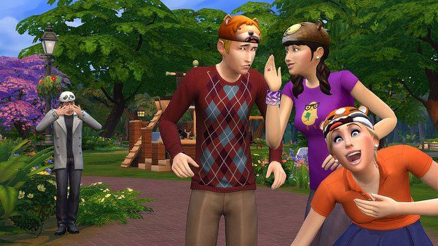 Começando uma Nova Vida em The Sims 4 para PS4