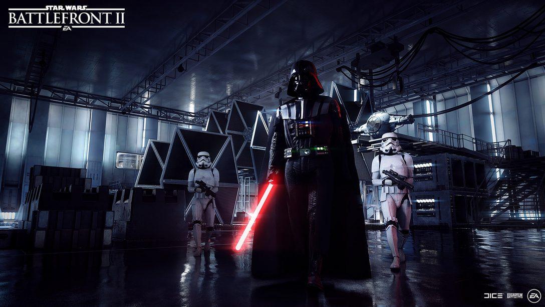 Darth Vader se Junta à Luta em Star Wars Battlefront II